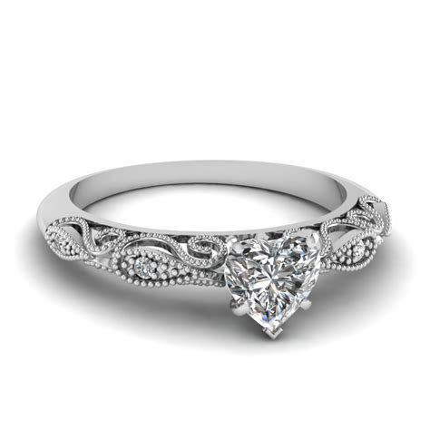 Heart Shaped Engagement Rings  Fascinating Diamonds