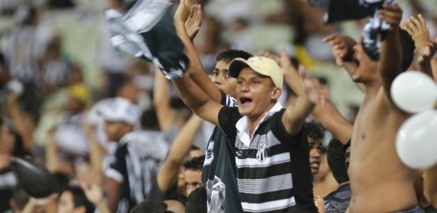 63.399 torcedores lotaram o Castelão e bateram o recorde de público do futebol brasileiro desde a Copa do Mundo
