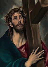 El Greco's Jesus Carrying the Cross, 1580.