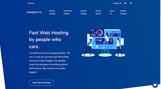 CometNine Review - A lesser known web host with great features - WPArena