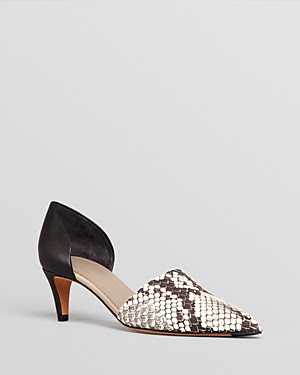 Vince Aurelian Pointed Toe d'Orsay Pumps