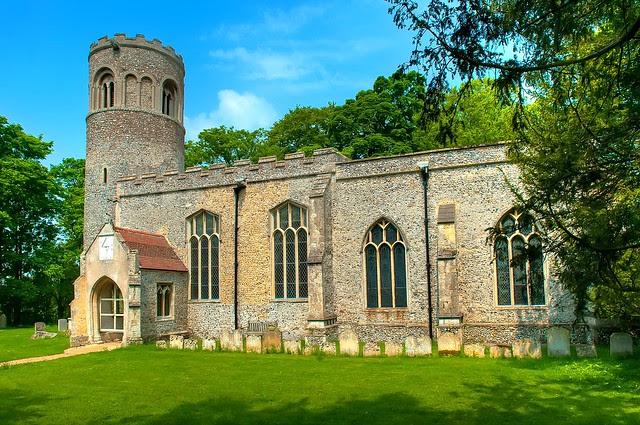 St Nicholas, Little Saxham, Suffolk