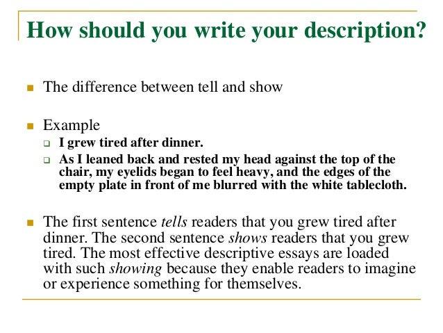 How to write an essay esl