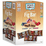 Nature's Bakery Stone Ground Whole Wheat Fig Bars - 36 count, 2 oz each