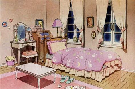 tsukino usagis bedroom concept  sailor moon crystal