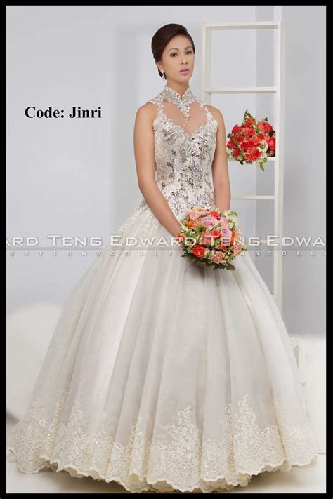 Edward Teng   Philippine Bridal Gowns