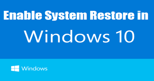Create System Restore Point on Windows OS