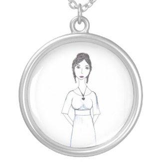Jane Austen Pendants
