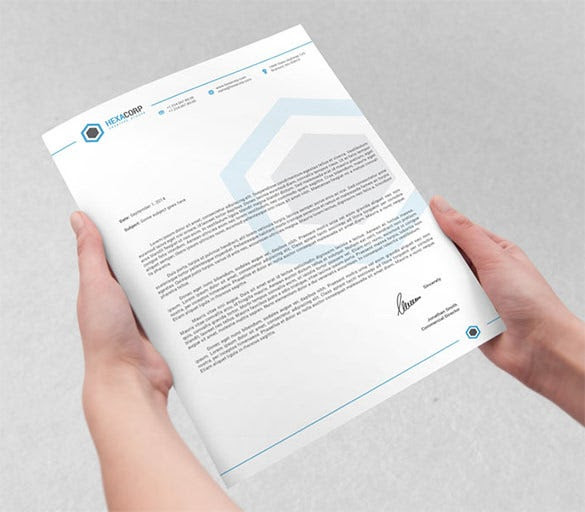 PSD Letterhead Template – 51+ Free PSD Format Download!   Free ...