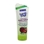 Bare Foot Peppermint, Plum Foot Scrub - 5.3 Oz