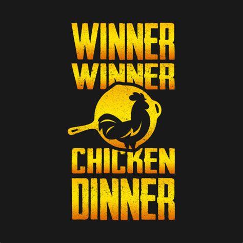 winner winner chicken dinner pubg  shirt teepublic