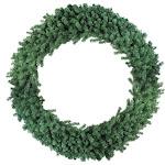 """Northlight 60"""" Deluxe Windsor Pine Artificial Christmas Wreath - Unlit"""