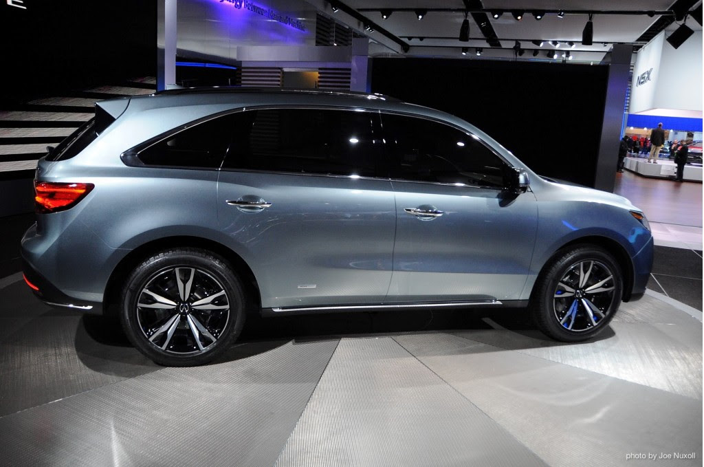 2014 acura mdx to debut in production trim in new york