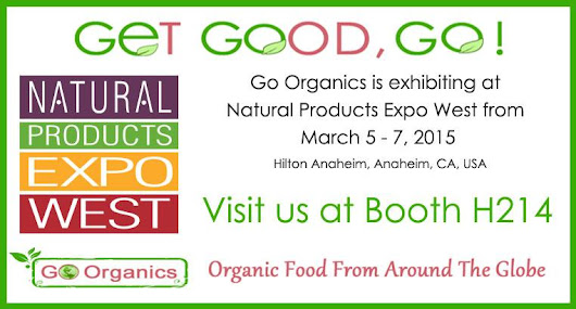 "Go Organics on Twitter: ""GoOrganics is at Naturual Products Expo West in Anaheim CA.  Visit Booth- H214   """