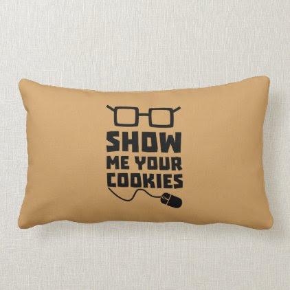 Show me your Cookies Zx363 Lumbar Pillow