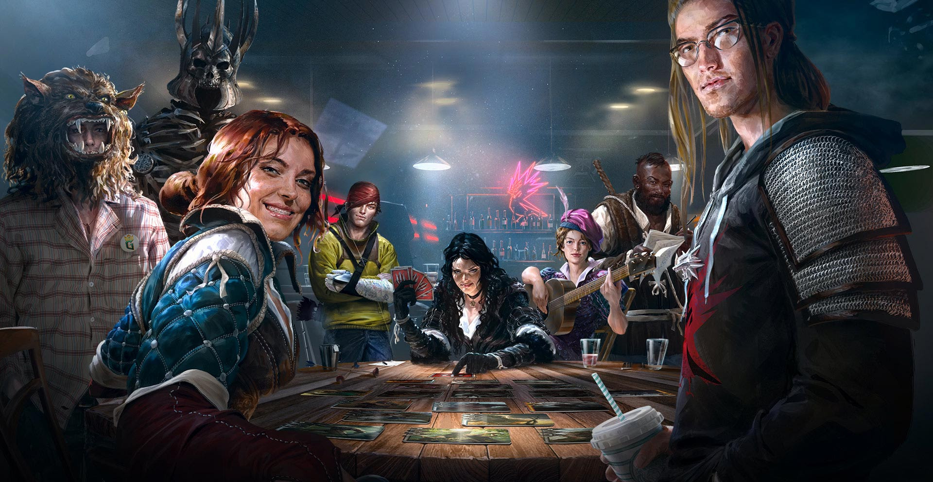 Gwent is getting an open beta soon, but before then closed registrations are shutting down screenshot