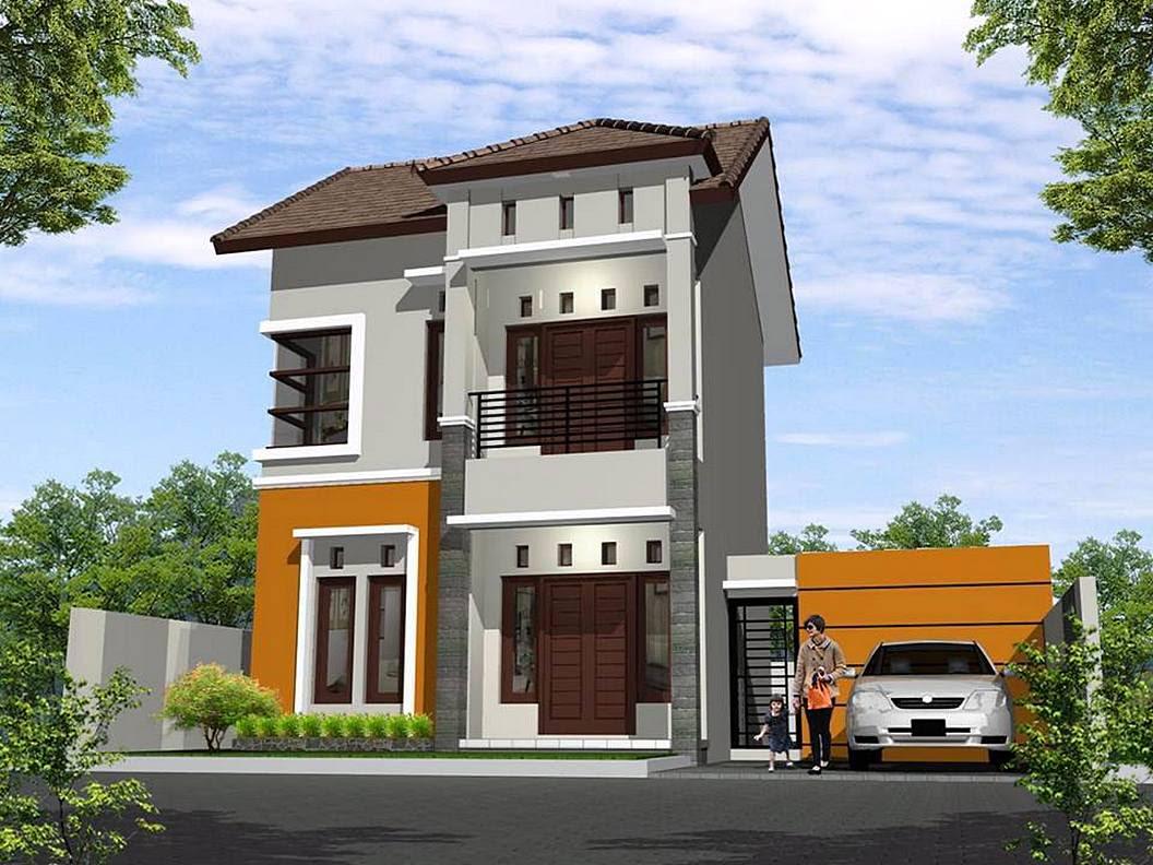 36 Desain Rumah Minimalis 2 Lantai Sederhana 2018 Dekor Rumah