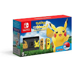 Nintendo Switch Console Bundle Pikachu & Eevee Edition Pokemon Pikachu Poke Ball