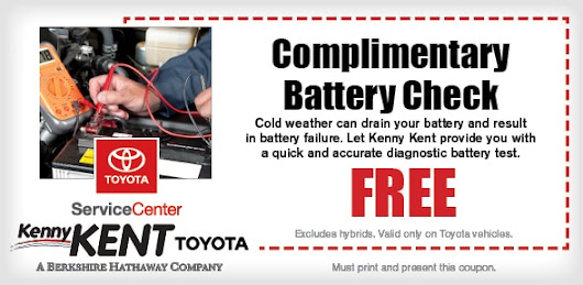 Battery Service Coupon Evansville, IN | Toyota Service Maintenance & Repair