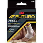 3M 76823001 Beige Futuro Comfort Lift Ankle Support Medium - Left or Right Foot