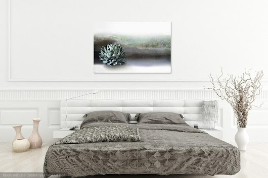 Great way to display photography for Etsy - virtual interiors