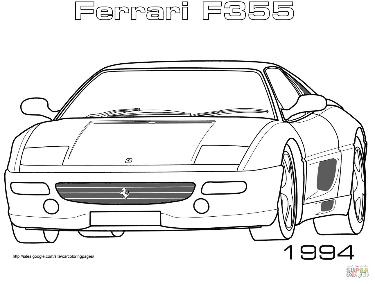 Klick das Bild 1994 Ferrari F355