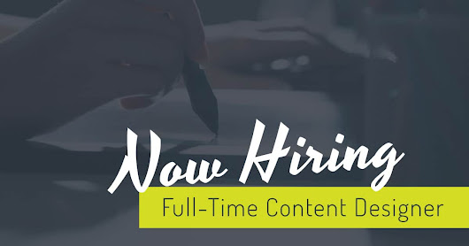Now Hiring: Full-Time Content Designer | Nuera Marketing