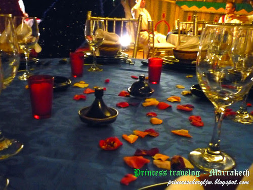 Moroccan Soireé (table setting)