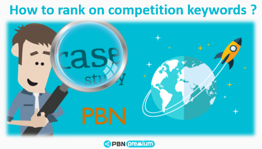 SEO Case Study in Competitive Niche with PBNs & Expired Domains