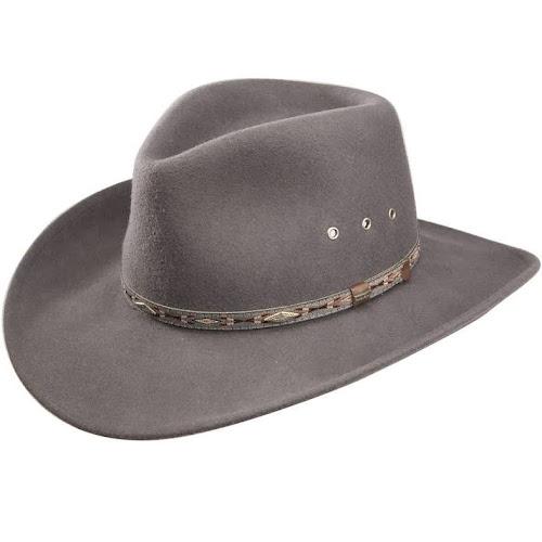 03ef6ff9e0eadb Stetson Elkhorn Crushable Wool Hat - Steel - Google Express