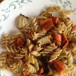 Roasted Vegetables over Pasta | The Rich Vegetarian