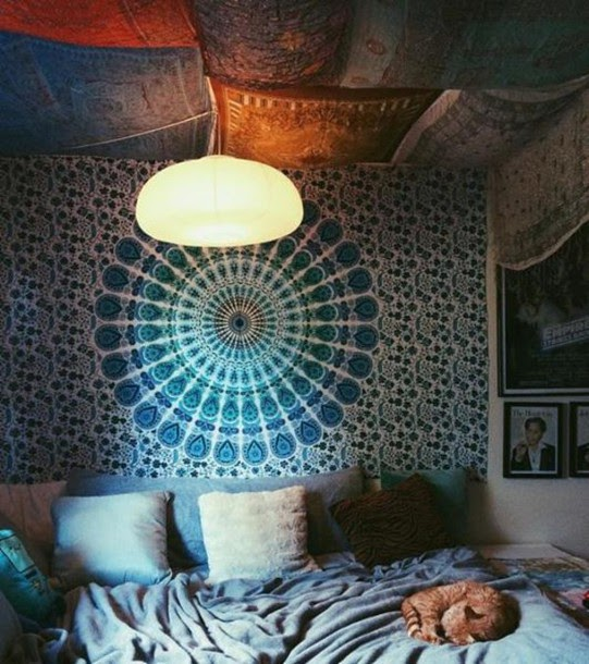Get Inspired For Bedroom Tapestry Wall Photos
