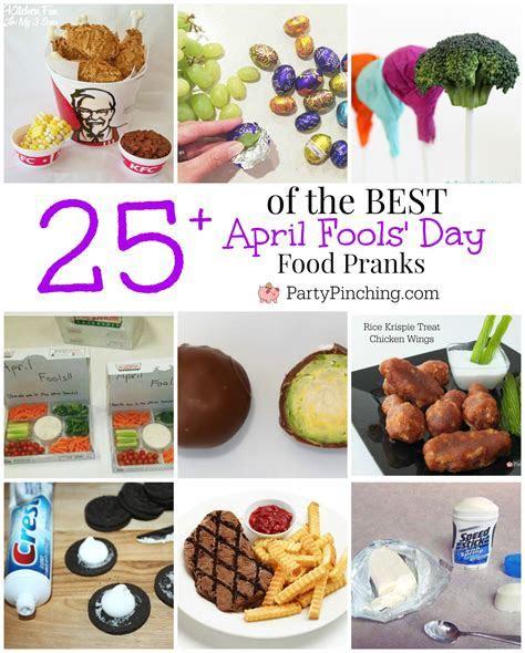 Best April Fool's Day pranks, April Fool's Day food