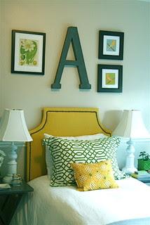 Yellow girls bedroom eclectic bedroom