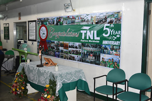 TNL Express Worldwide 5th year Anniversary
