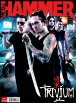 Metal Hammer September 2008 cover