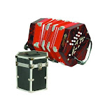 Mirage C7001 20 Button 40 Reed Concertina with Hard Case
