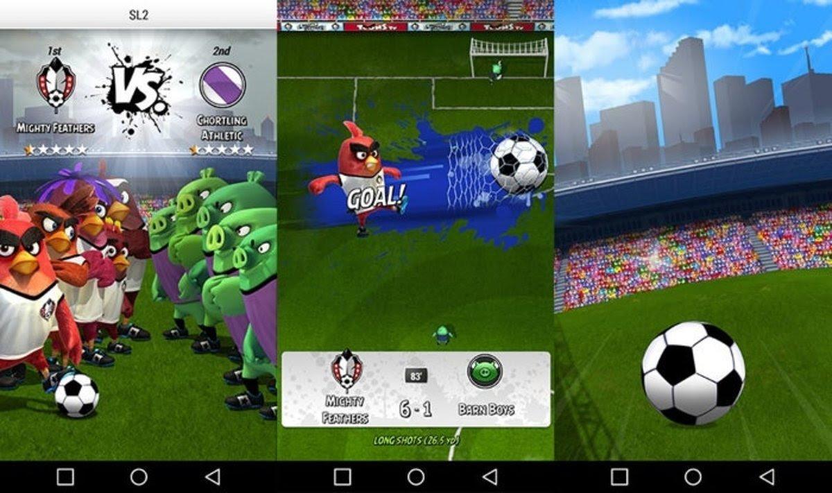 Disfruta ya de Angry Birds Goal!, vuelven los alocados pájaros a tu Android