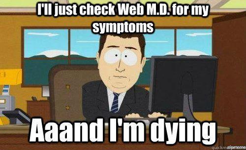 web md comic, web md funny, google doctor