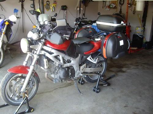 sv650 loaded up