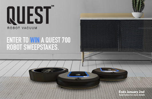 Hoover Quest 700 Robot Vacuum Sweepstakes