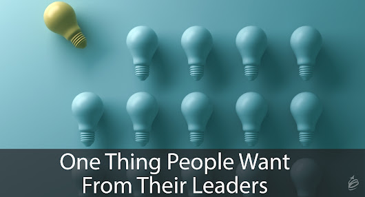 One Thing People Want From Their Leaders