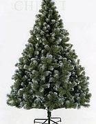 Un albero di Natale in palstica