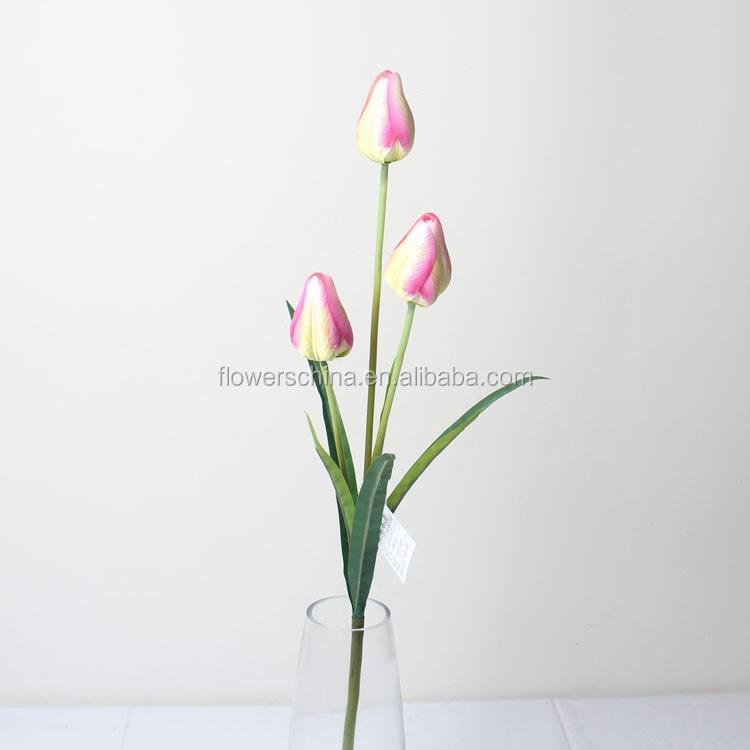 Silk Tulip Bud Bundle Artificial White Tulip Silk Flower Wholesale  Buy Silk Tulip,Artificial