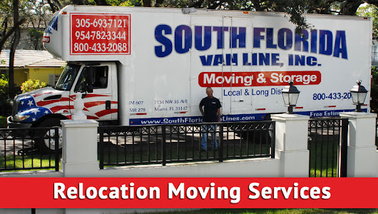 Relocation Moving Service | South Florida Van lines Moving Services