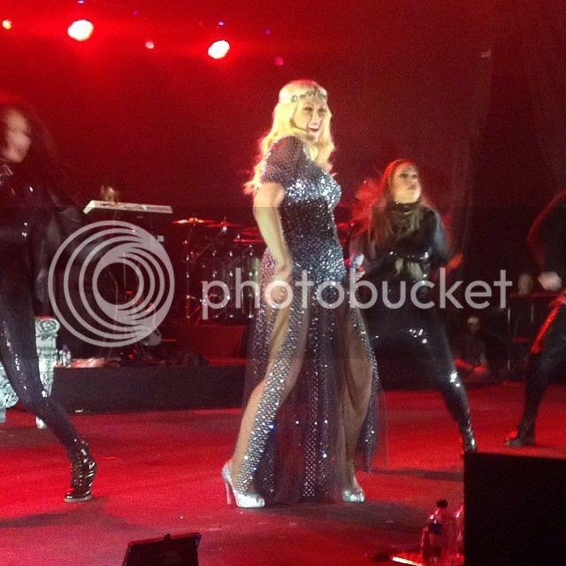 A pregnant Christina Aguilera rocks Malaysia...