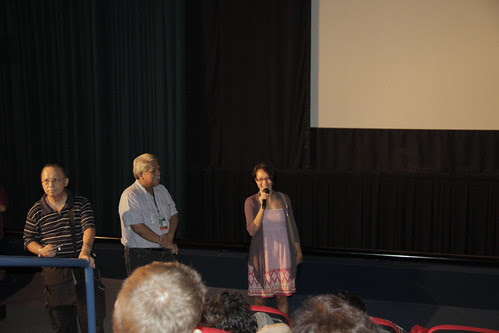 Margie talking before KANO screening