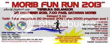 Morib Fun Run 2013