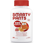 SmartyPants Kids Complete Multivitamin Gummies - 90 count