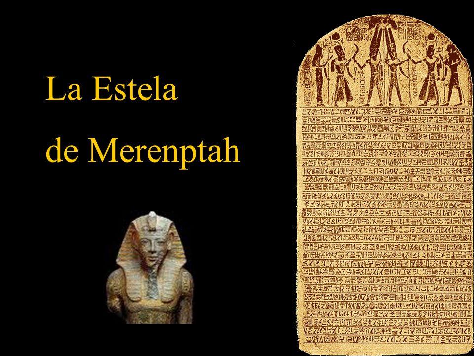 Resultado de imagen para Fragmento de la Estela de Merneptah donde se nombra a Israel.